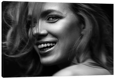 Smile Nikoleta Canvas Art Print