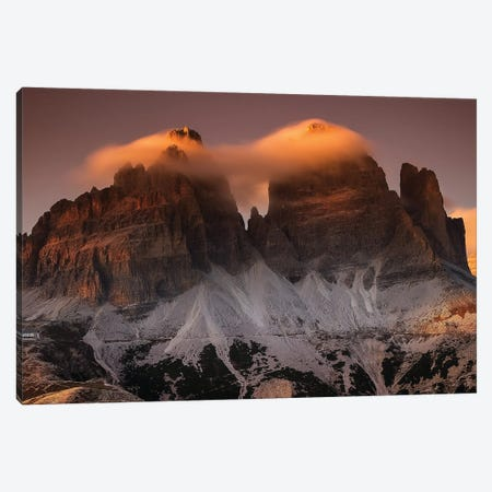 Tre Cime In Cotton Candy Canvas Print #OXM6337} by Martin Kucera Canvas Art
