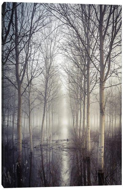 Silence Cross Canvas Art Print
