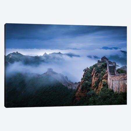 China's Jinshanling Great Wall Canvas Print #OXM6372} by Simoon Canvas Print