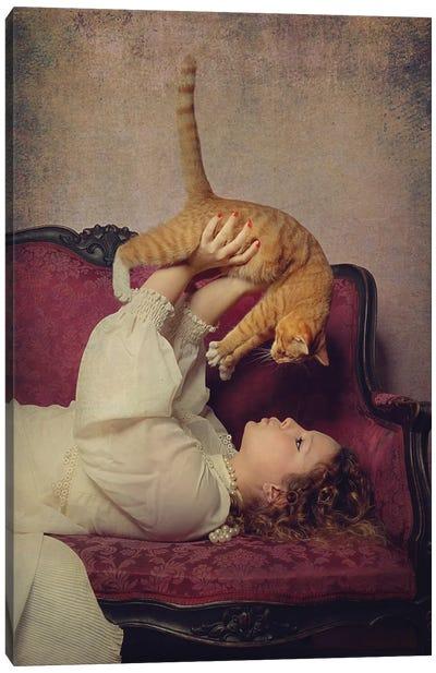 Cat Lover Canvas Art Print