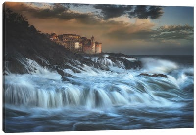 TELLARO WATER FALL Canvas Art Print