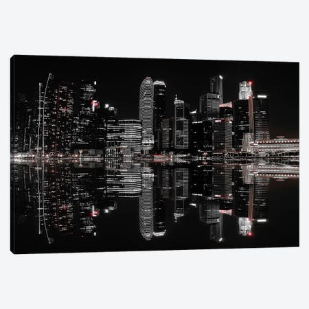 Night In The City Canvas Print #OXM651} by hardibudi Canvas Print