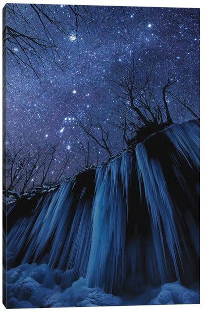 Freezing Cold Night Canvas Art Print