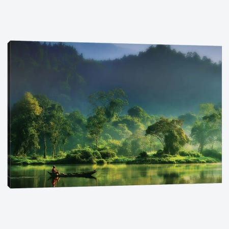 Painting Of Nature Canvas Print #OXM652} by hardibudi Canvas Art Print