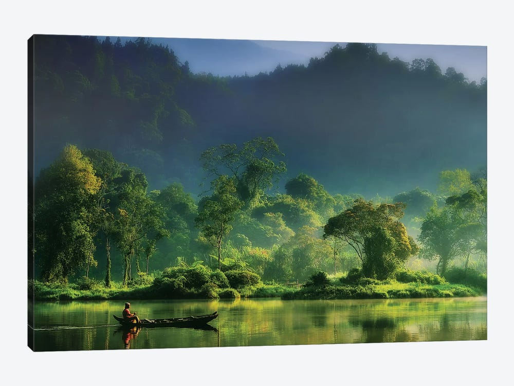 Painting Of Nature by hardibudi 1-piece Canvas Art