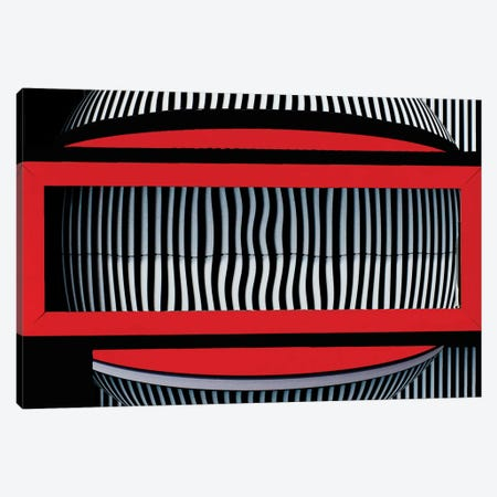 Red Frame With Attitude Canvas Print #OXM67} by Wayne Pearson Canvas Wall Art