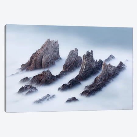 Crests And Valleys Canvas Print #OXM727} by Jose Antonio Perez Canvas Art