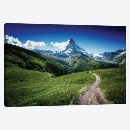 Matterhorn II Canvas Print #OXM730} by Juan Pablo de Miguel Canvas Wall Art