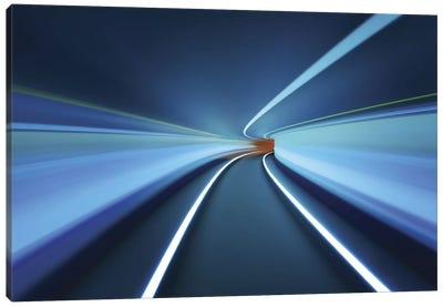 Tunnel Vision Canvas Art Print