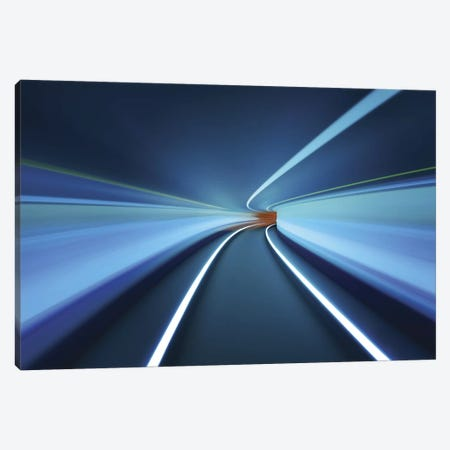 Tunnel Vision Canvas Print #OXM75} by Robert Work Canvas Print