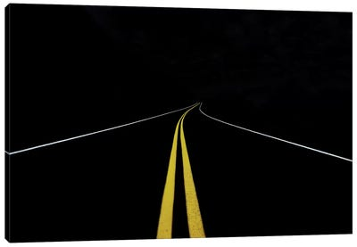 The Road To Nowhere Canvas Art Print