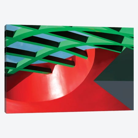 Constructivist Canvas Print #OXM79} by Linda Wride Canvas Wall Art