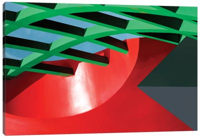 Constructivist Canvas Art Print
