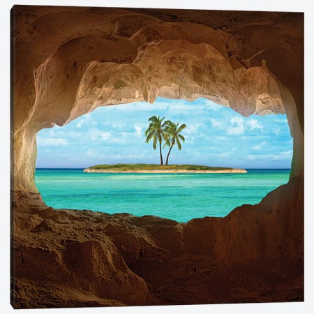 Paradise Canvas Print #OXM820} by Matt Anderson Canvas Wall Art