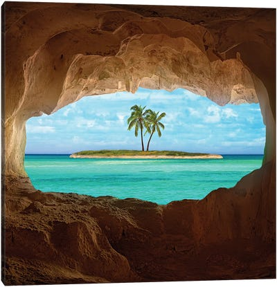 Paradise Canvas Art Print