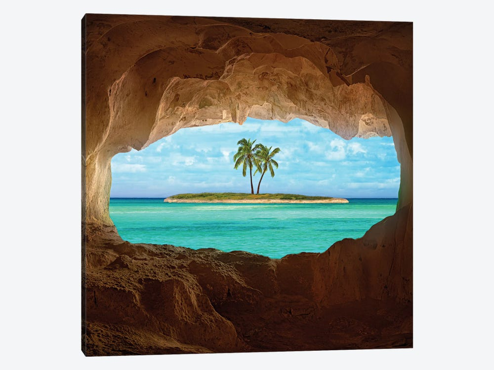 Paradise by Matt Anderson 1-piece Canvas Wall Art