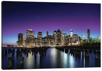 New York Sky Line Canvas Art Print