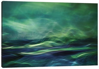 Northern Lights Canvas Print #OXM90