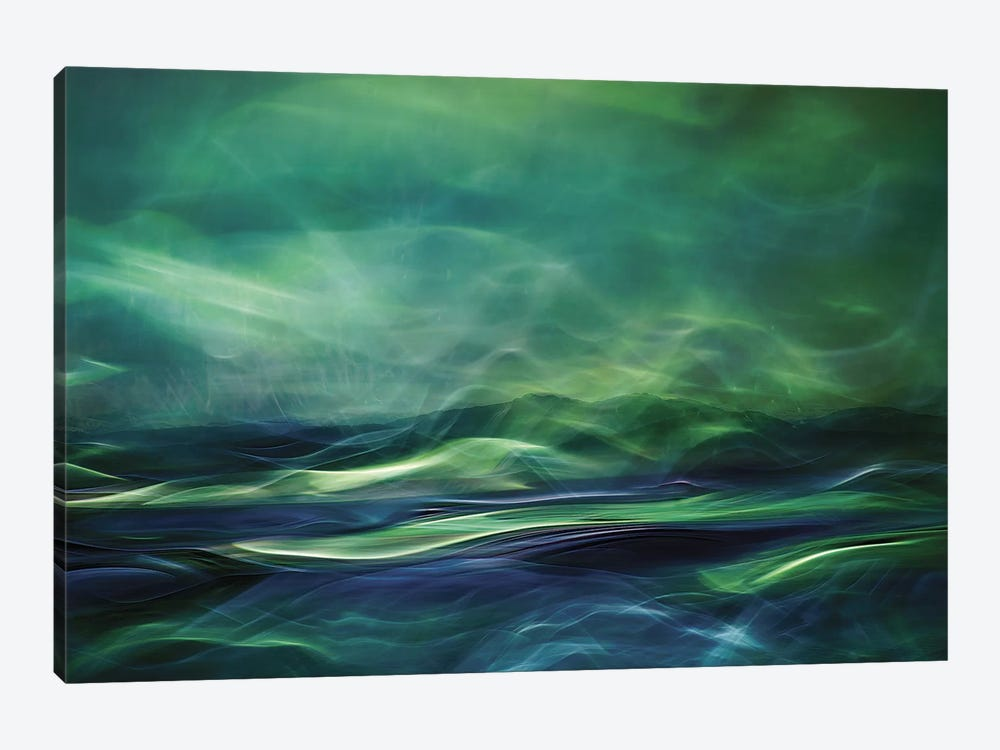 Northern Lights by Willy Marthinussen 1-piece Canvas Art Print