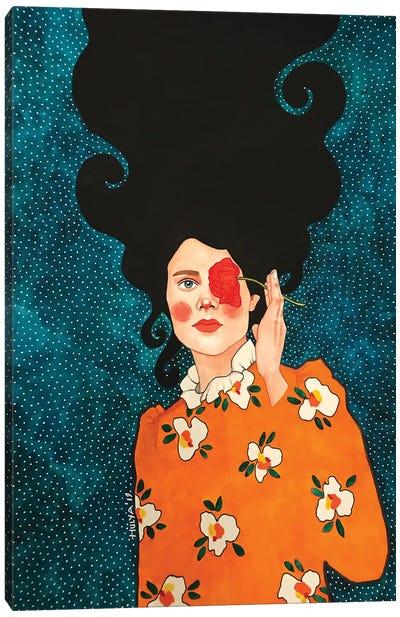 On Melancholy Hill Canvas Art Print