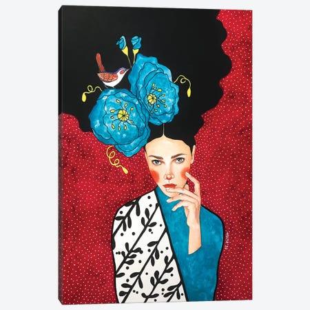 No Words Left Canvas Print #OZD112} by Hülya Özdemir Canvas Art