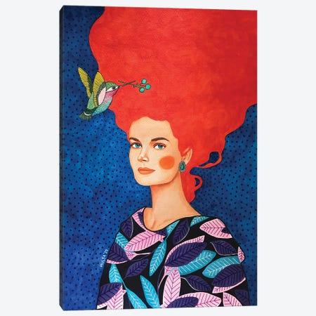 Sound Of A Passing Dream Canvas Print #OZD131} by Hülya Özdemir Canvas Artwork