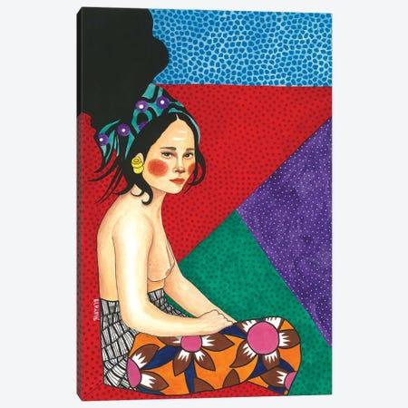 I Get Lost Canvas Print #OZD14} by Hülya Özdemir Canvas Print