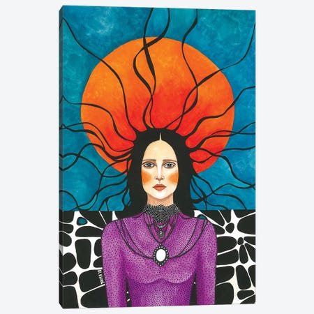 It Happened Quiet Canvas Print #OZD20} by Hülya Özdemir Art Print