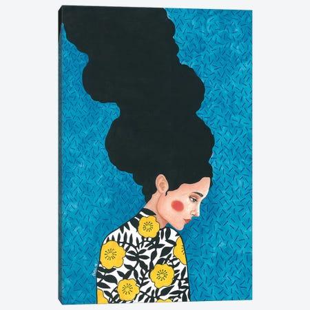 Le Soleil Se Lève De L'Est Canvas Print #OZD24} by Hülya Özdemir Canvas Wall Art