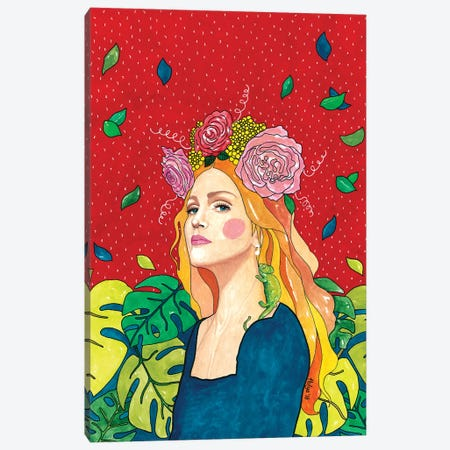 Madonna Canvas Print #OZD31} by Hülya Özdemir Canvas Art