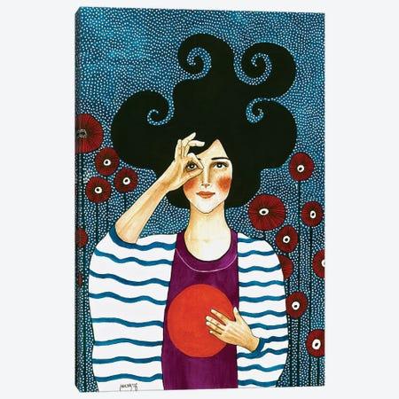 Moment Of Solace Canvas Print #OZD33} by Hülya Özdemir Canvas Art