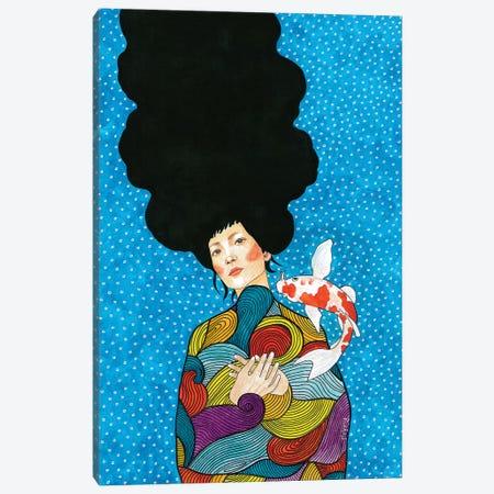 Never Let You Down Canvas Print #OZD35} by Hülya Özdemir Canvas Print