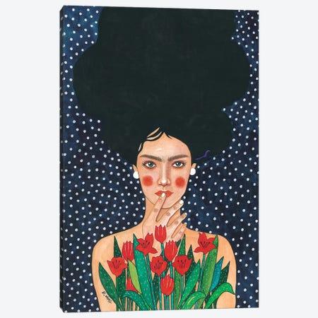 Observed Canvas Print #OZD38} by Hülya Özdemir Canvas Wall Art