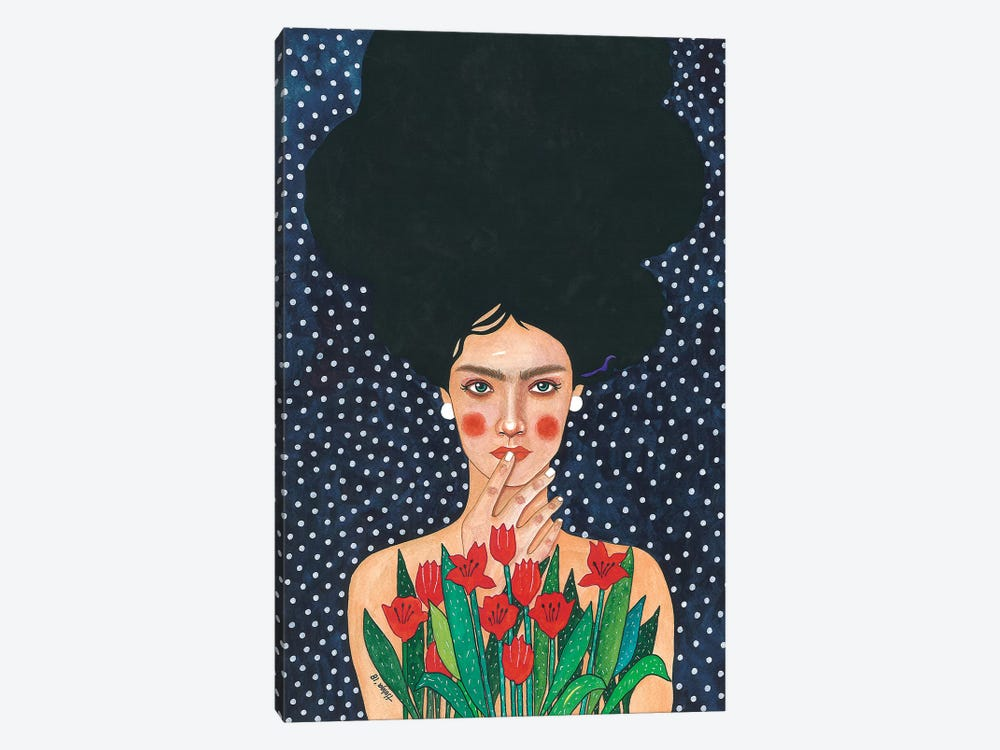 Observed by Hülya Özdemir 1-piece Canvas Print