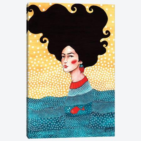 Underneath And Inside Canvas Print #OZD57} by Hülya Özdemir Canvas Art Print