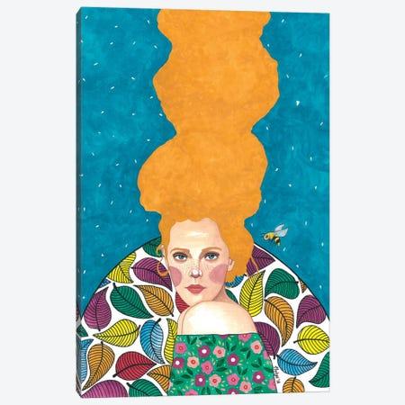 Beautiful Stranger Canvas Print #OZD5} by Hülya Özdemir Canvas Wall Art