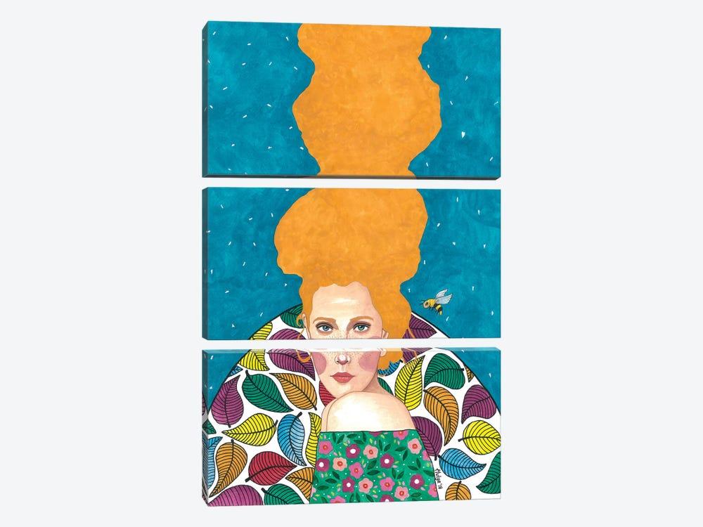 Beautiful Stranger by Hülya Özdemir 3-piece Canvas Artwork
