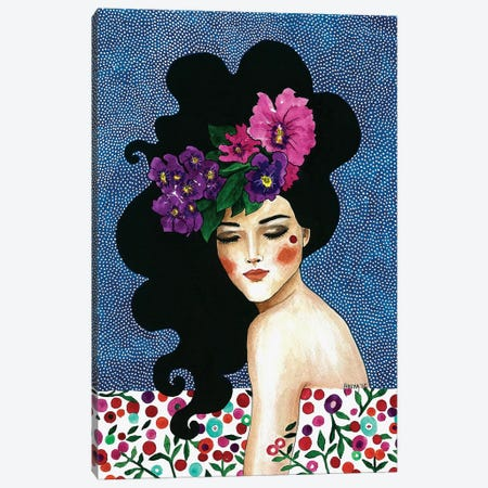 Whispering Heart Canvas Print #OZD61} by Hülya Özdemir Canvas Print