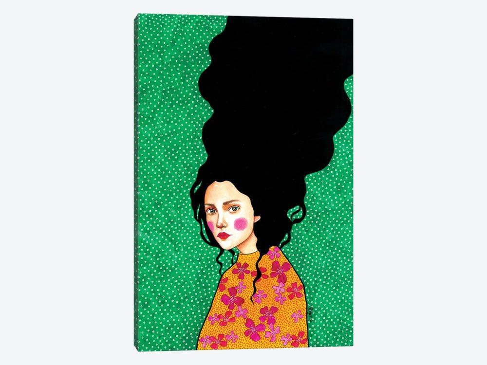 In Secret To Myself by Hülya Özdemir 1-piece Canvas Print