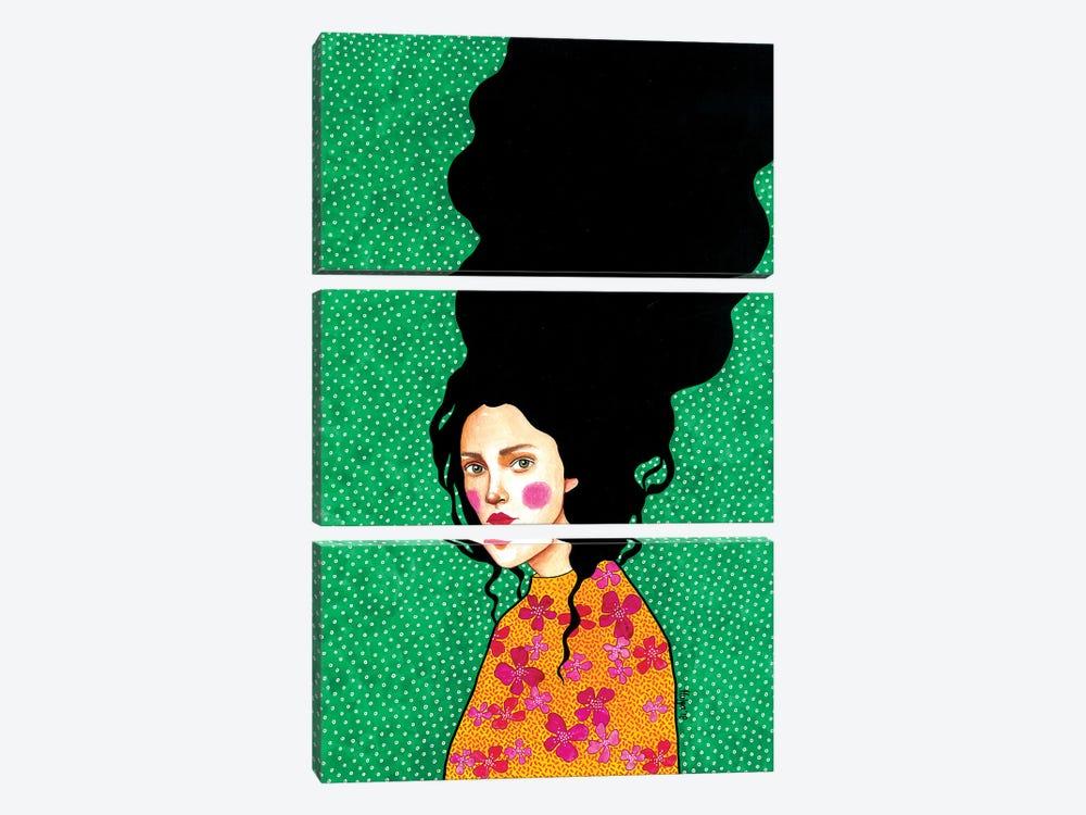 In Secret To Myself by Hülya Özdemir 3-piece Art Print