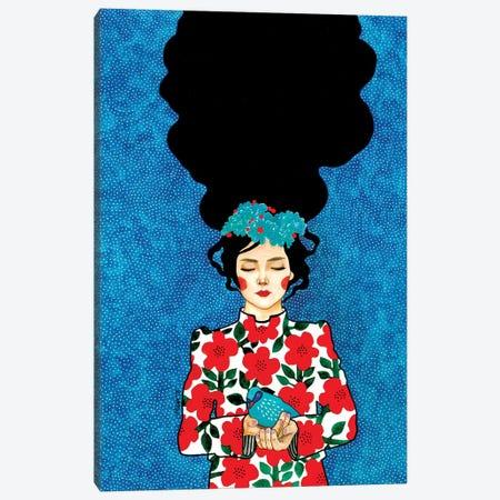 Please Go Slowly Canvas Print #OZD75} by Hülya Özdemir Art Print