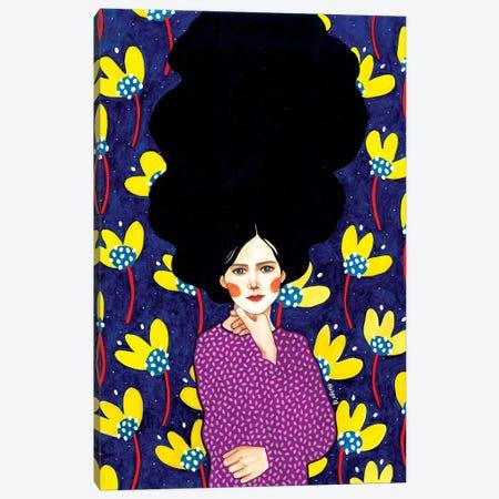 What About Today Canvas Print #OZD77} by Hülya Özdemir Canvas Art Print