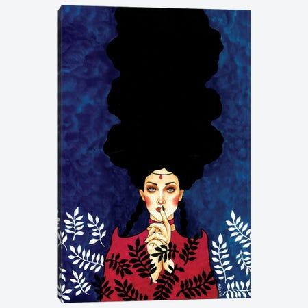 You Can't Disguise Canvas Print #OZD78} by Hülya Özdemir Canvas Wall Art