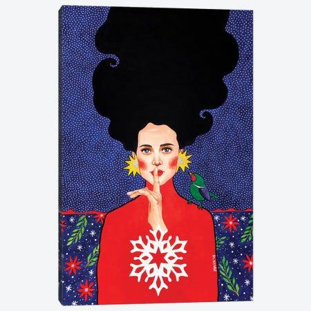 I Prefer The Sound Of You Canvas Print #OZD81} by Hülya Özdemir Canvas Print