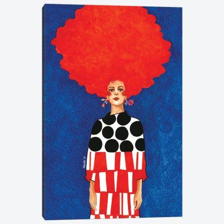 Pay No Mind Canvas Print #OZD89} by Hülya Özdemir Canvas Print