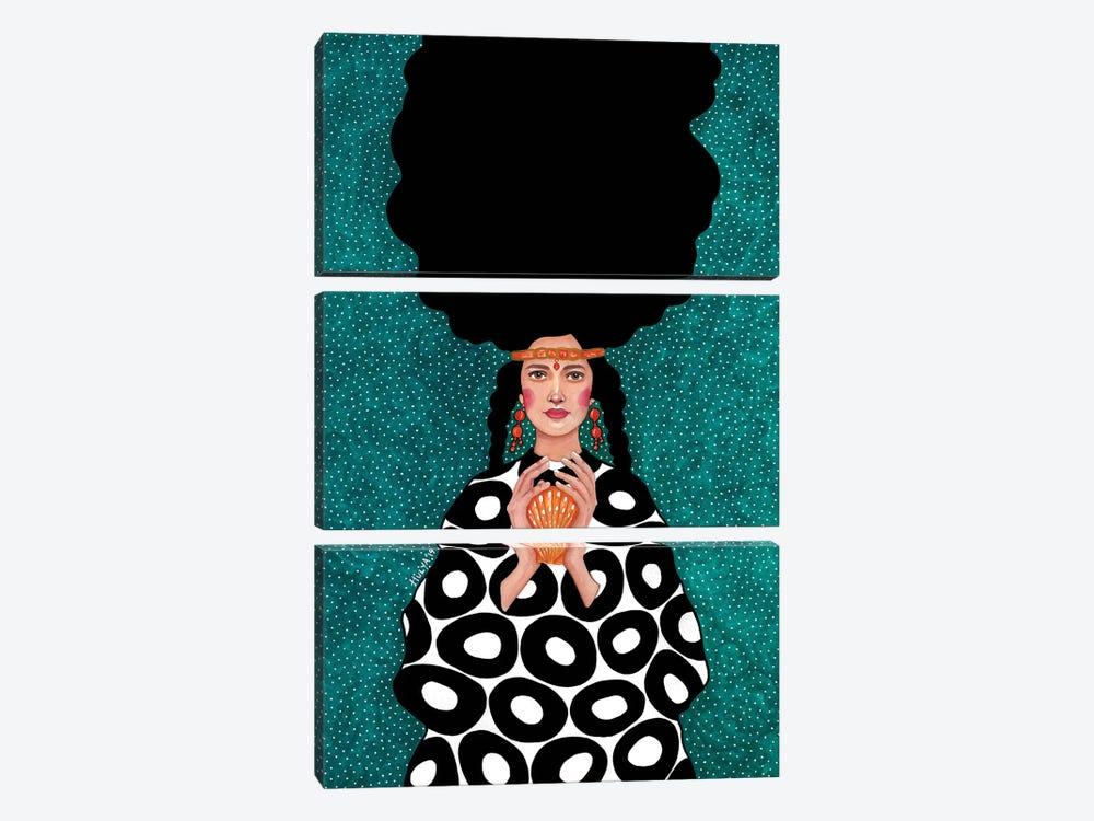 All Of You Concerned by Hülya Özdemir 3-piece Canvas Art