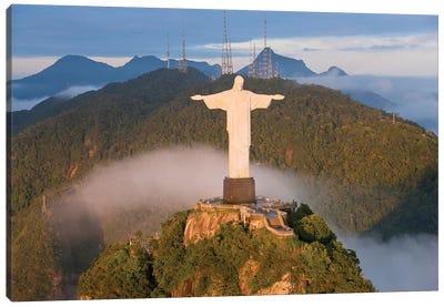 Christ The Redeemer (Cristo Redentor) I, Corcovado Mountain, Rio de Janeiro, Brazil Canvas Art Print