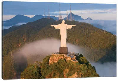 Christ The Redeemer (Cristo Redentor) I, Corcovado Mountain, Rio de Janeiro, Brazil Canvas Art Print