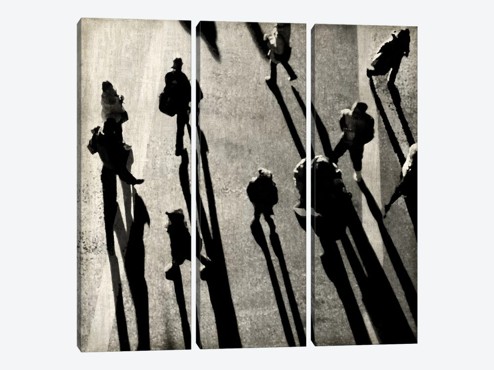 Pedestrian I by Paul English 3-piece Canvas Art